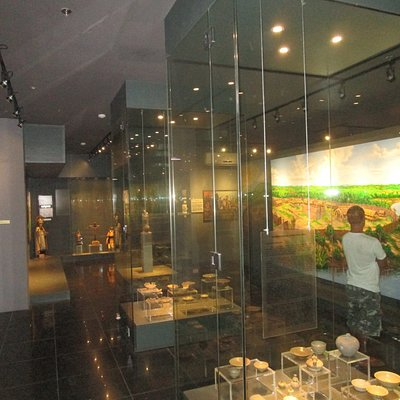 One of the main display rooms