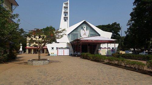 St.Philomenas Church Koonammavu