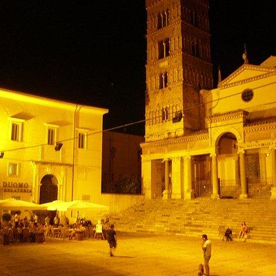 Kveldsstemning i gamlebyen