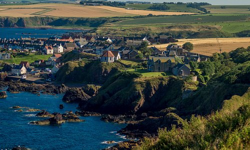 view of St Abbs