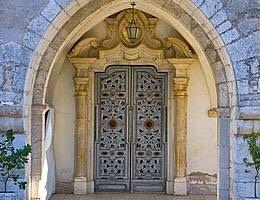 Portale santuario Santa Maria del piano