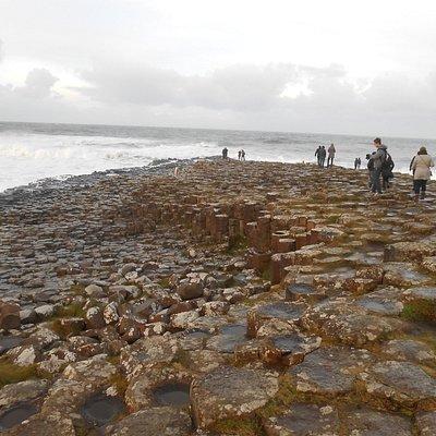 Una de los lugares a visitar para ver las columnas de basalto