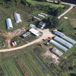 Aerial View of Lewis Farm