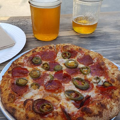 Beer and Pizza, Can't beat it.
