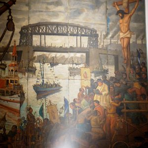 Cuadros originales de Benito Quinquela Martín