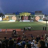 Открытие Фестиваля на стадионе.