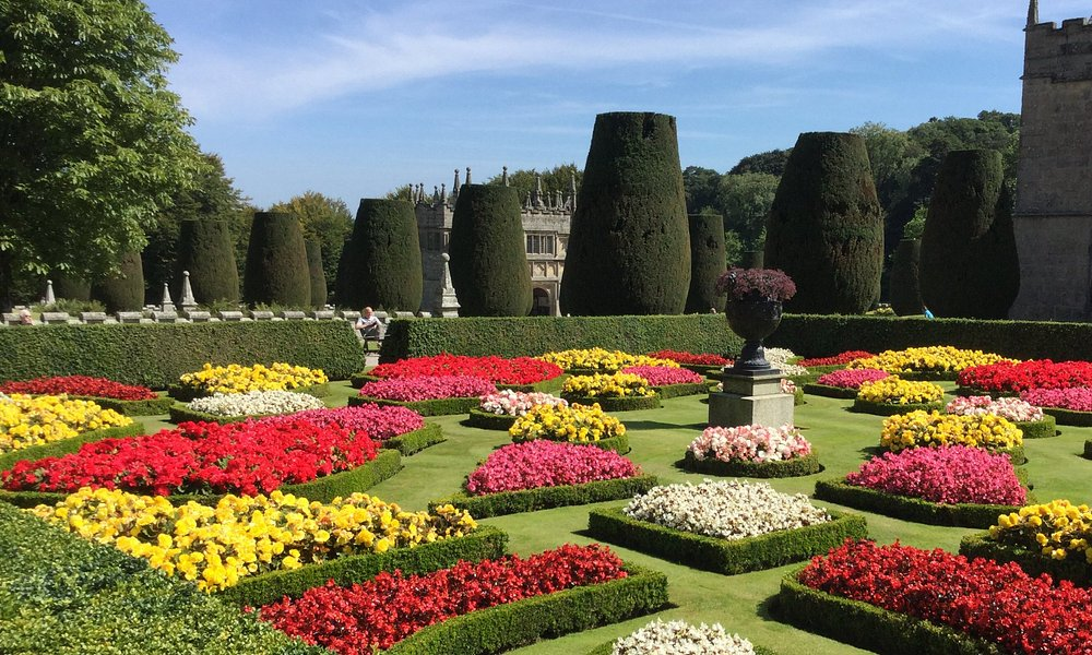 Beautiful formal gardens