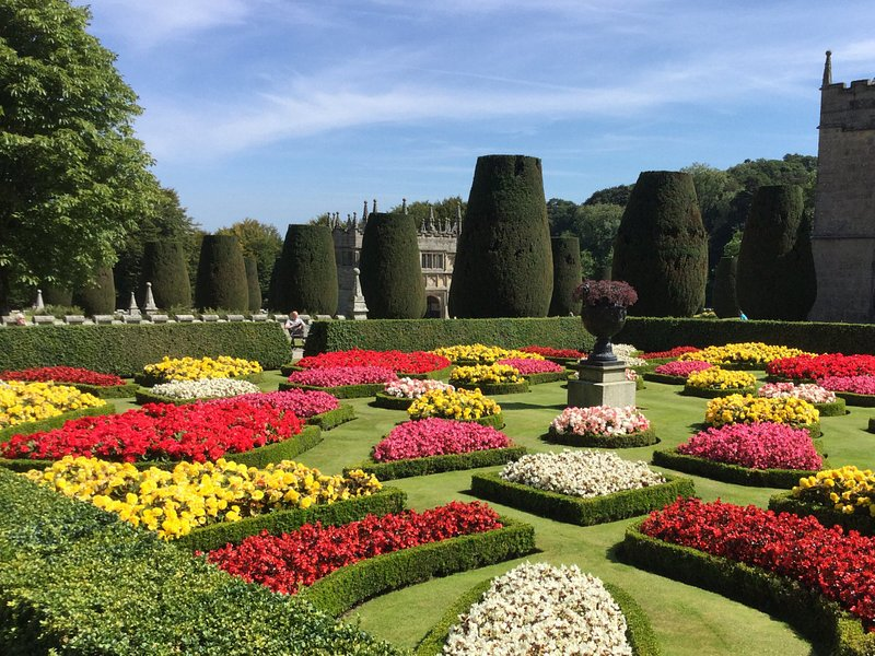 Beautiful formal gardens