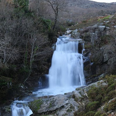 Uma das cascatas existentes no Parque Natural do Alvão