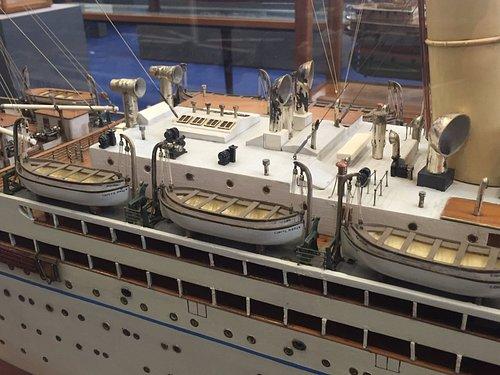 Particolare di nave del Lloyd