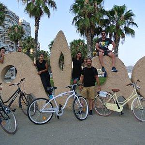 Tour en bicicleta en Málaga