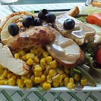 La salade chicken