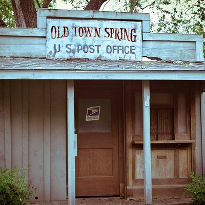 Old Town Spring Post Office still standing
