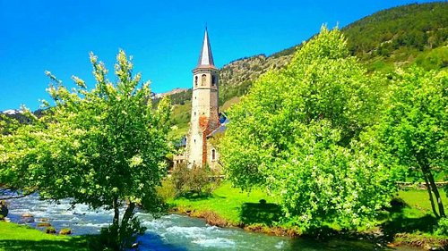 Casa Vall y Montgarri en verano  2016,espectacular,recomendable.