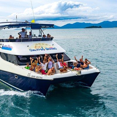 Dive Yacht Catamaran Mintra