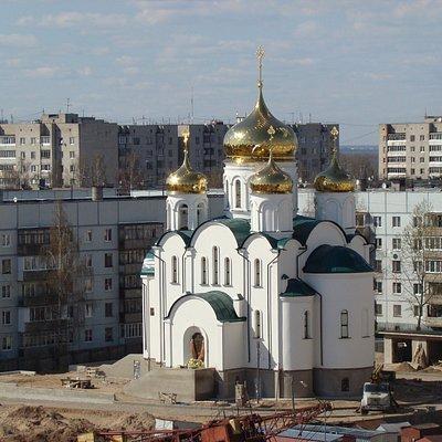 Торжественное освящение храма планируется в августе 2016 года.