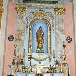 Chapelle des Pénitents Rouges et du Saint-Suaire, Nice, France.