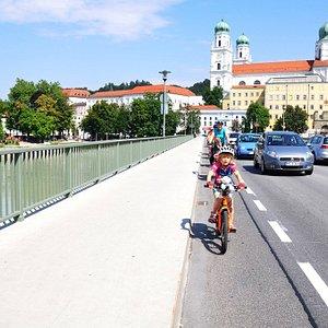 Start naszej trasy w Passau.