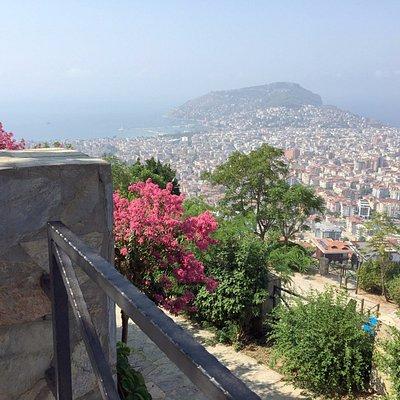 teras kale manzarası