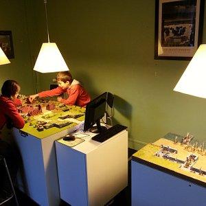 les tables de jeux  sont équipées d'une caméra