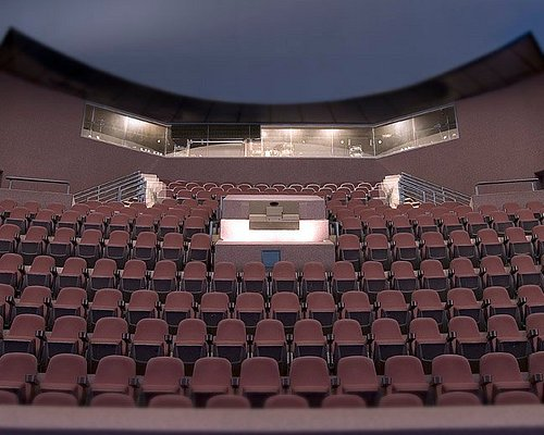 OMNIMAX Theater - 226 seats under a 79-foot tilted projection dome