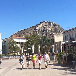 The beautiful city of Nafplio