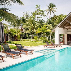 Villa from the infinity pool