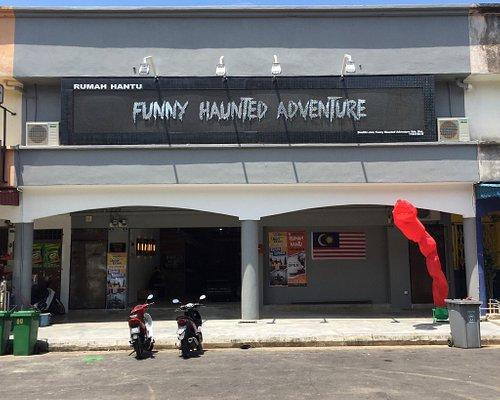 1st in Malaysia Funny Haunted Adventure (Rumah Hantu Lawak) It's Funny Haunted House, Happy ,Fun