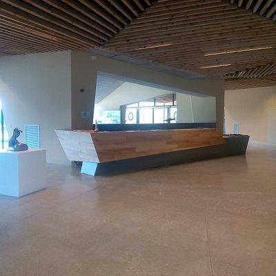 Oficina de turismo y recepción del museo