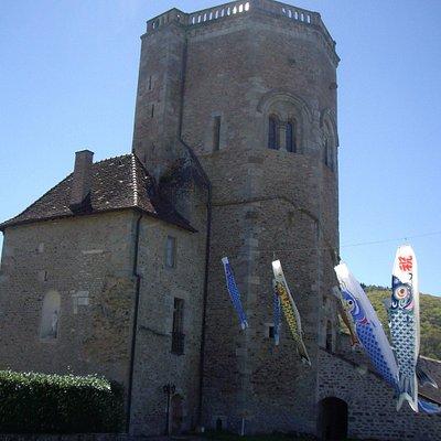 La Tour vue de la cour intérieure