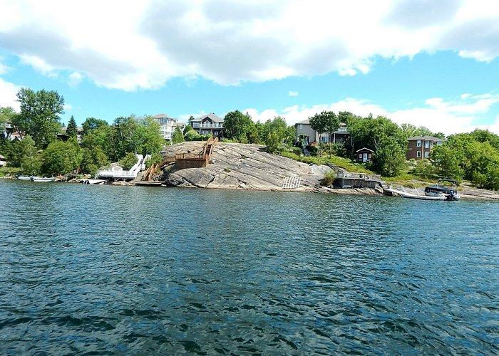 ..boat ride on Ramsey Lake!!
