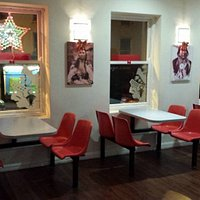 Seating area at Apache Pizza Kells
