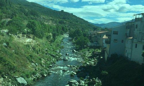 El rio Jerte.Cabezuela del Valle