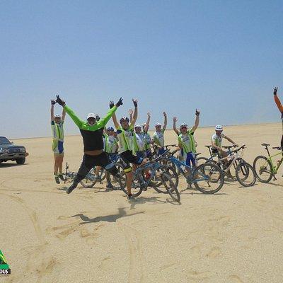Disfruta La Guajira con Eco-Rutas en Bicicleta!