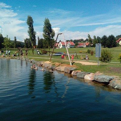 Lake in Motorikpark Gamlitz