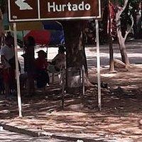 Entrada Balneario Hurtado