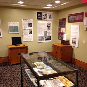 Sacco and Vanzetti exhibit at John Adams Courthouse