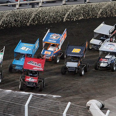 Sprint Car Featured Race