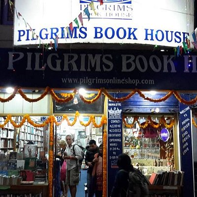 Pilgrims Book House entrance