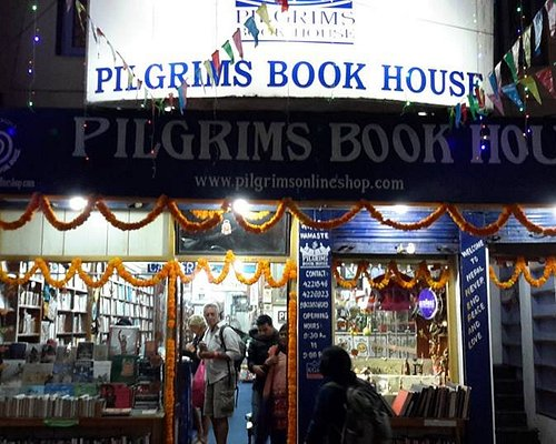 Pilgrims Book House entrance