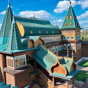 Вид со смотровой площадки Дворца Царя Алексея Михайловича