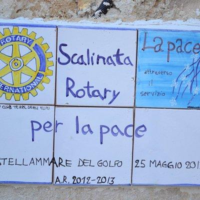 Scalinata Rotary per la Pace