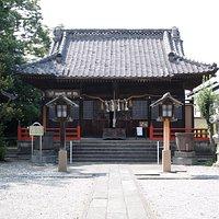 明治に修復された拝殿