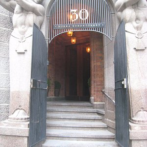 Decorative entrance