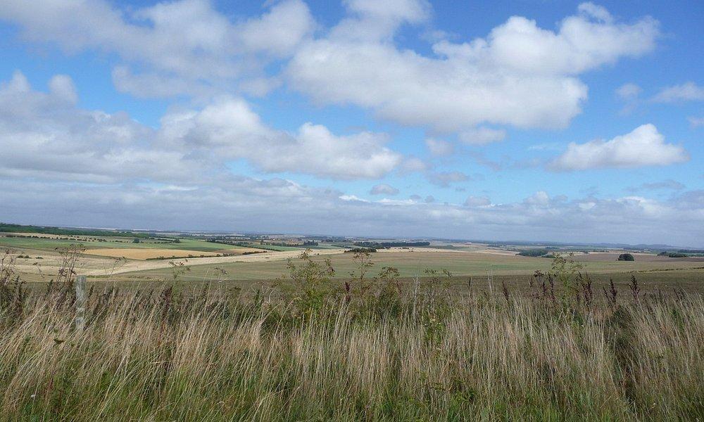 Blue sky over Salisbury Plain