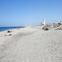 Playa de las Salina en la Almabraba de Monteleva