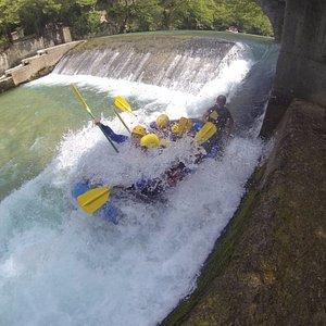 Downstream rafting 3