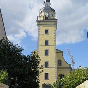 Барочная башня Неандеркирхе