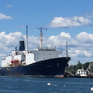 State of Maine training ship at Maine Maritime Academy