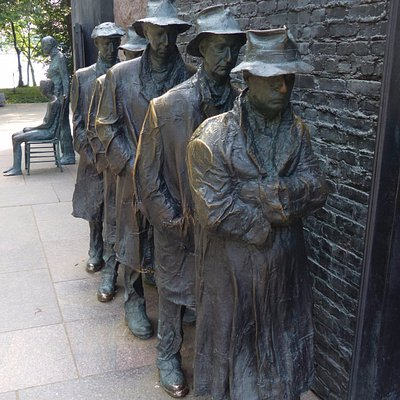 Depression Breadline by George Segal